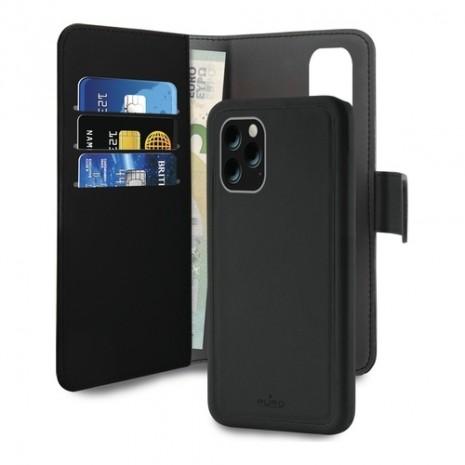 Apple iPhone 11 Pro Magnet pung taske og cover 2-i-1 fra Puro - Sort-5