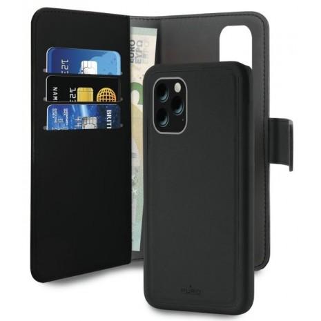 Apple iPhone 11 Pro Magnet pung taske og cover 2-i-1 fra Puro - Sort-1