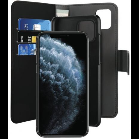 Apple iPhone 11 Pro Magnet pung taske og cover 2-i-1 fra Puro - Sort-3