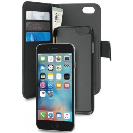 Apple iPhone 6/6S/7/8 Magnet pung taske og cover 2-i-1 fra Puro - Sort-2