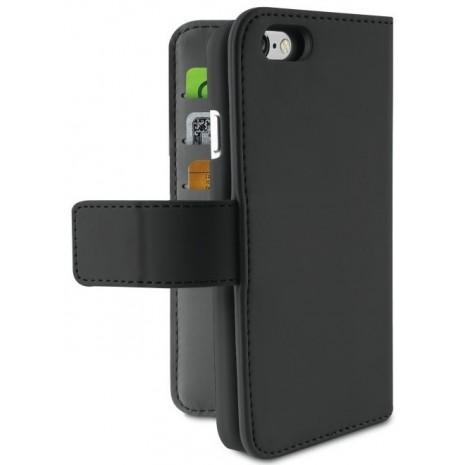 Apple iPhone 6/6S/7/8 Magnet pung taske og cover 2-i-1 fra Puro - Sort-4