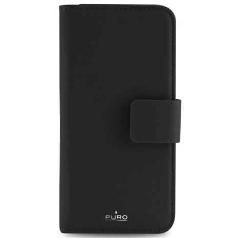 Apple iPhone 6/6S/7/8 Magnet pung taske og cover 2-i-1 fra Puro - Sort-7