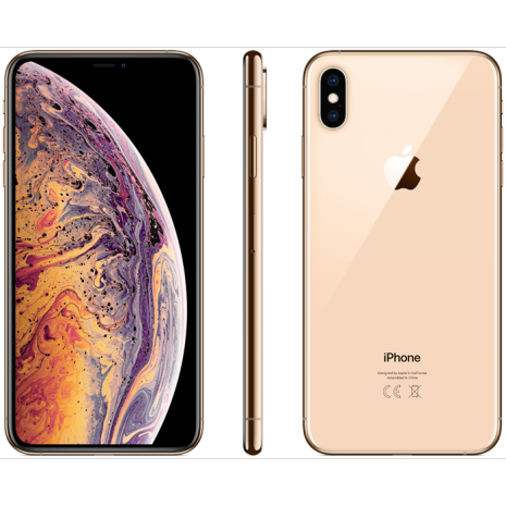 Apple iPhone XS Max 64GB Guld-6