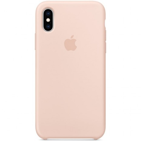 Apple iPhone XS Silicone Case - Pink Sand MTF82ZM/A-2