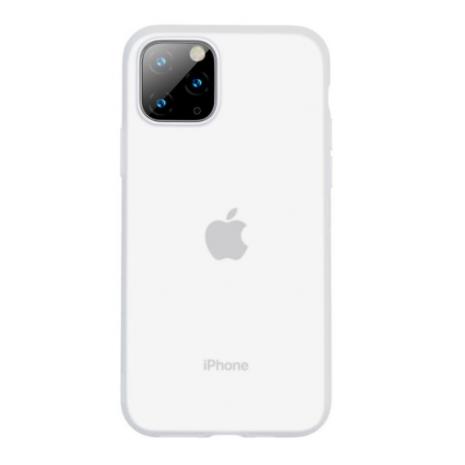 Baseus Silikone Case til iPhone 11 Pro Max - Hvid / Matteret-1