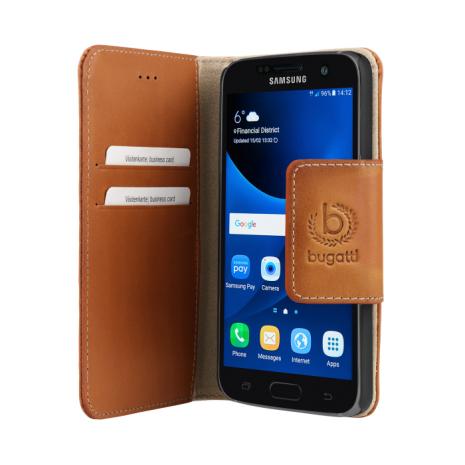 bugatti Booklet Case Amsterdam for Galaxy S7 sand-2