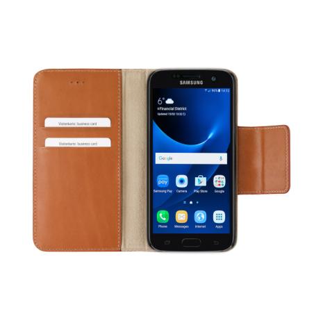 bugatti Booklet Case Amsterdam for Galaxy S7 sand-5