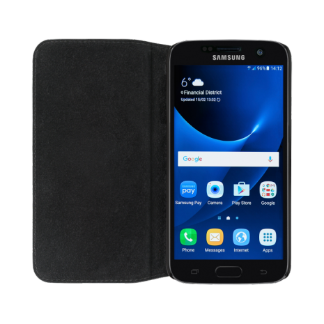 bugatti Booklet Case Oslo for Galaxy S7 black-3