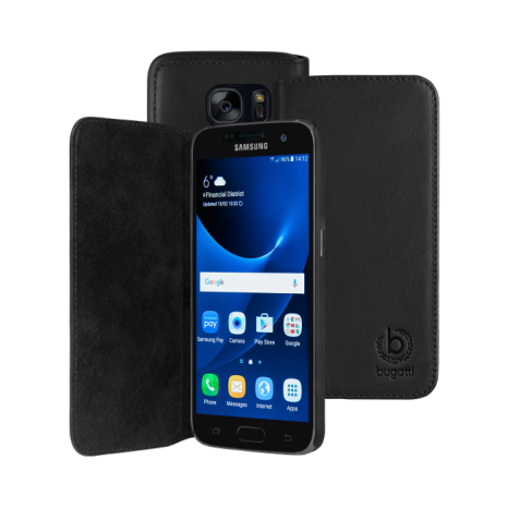 bugatti Booklet Case Oslo for Galaxy S7 black-1