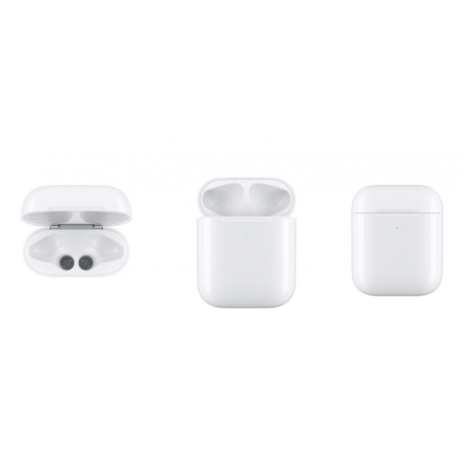 Cyoo -  Charge Case - Apple Airpod - - with cable or Wireless - white-4