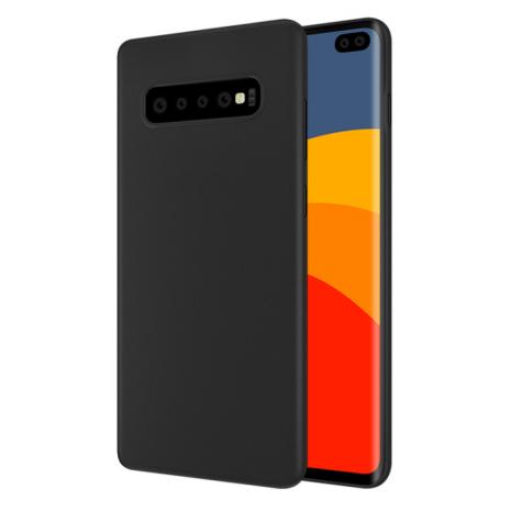 Cyoo - Soft Case - Samsung G973F Galaxy S10 - Cover - Black-1