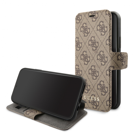 Guess - Charms - Book Case 4G - Apple iPhone 11 Pro - brown-1