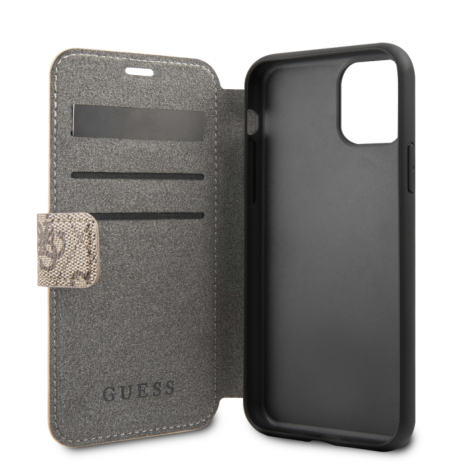 Guess - Charms - Book Case 4G - Apple iPhone 11 Pro - brown-2