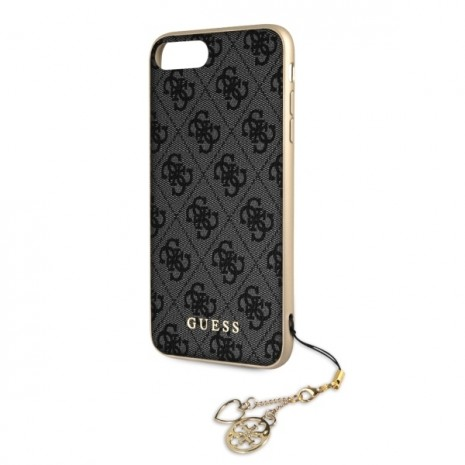 Guess - Charms - Hardcover 4G - Apple iPhone X/Xs - Grey-2