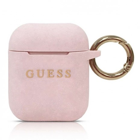 Guess - Silicon Cover Ring -  Airpods - Pink-2