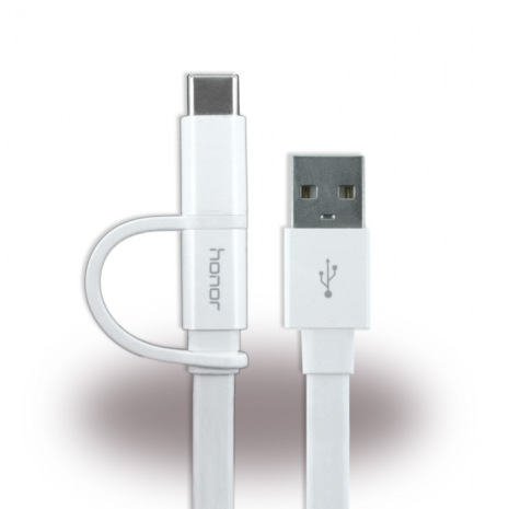 Huawei AP55 2 in 1 Cable Micro USB & USB-C 1.5m White-3