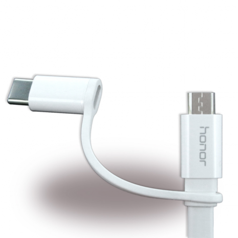 Huawei AP55 2 in 1 Cable Micro USB & USB-C 1.5m White-2