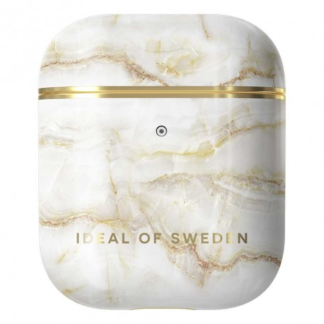 IDEAL AIRPODS CASE (1ST& 2ND GEN GOLDEN PEARL MARB)