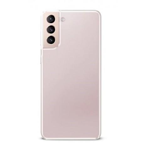 Puro 0.3 Nude Cover til Samsung Galaxy S21 - Gennemsigtig