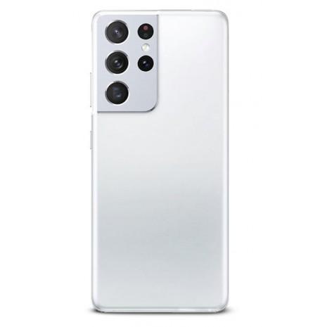 Puro 0.3 Nude Cover til Samsung Galaxy S21 Ultra - Gennemsigtig