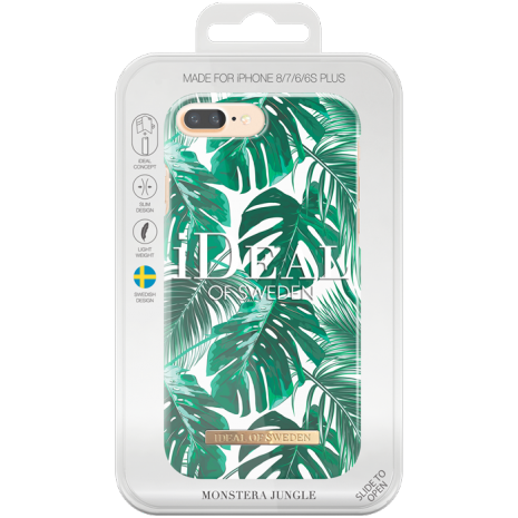 iPhone 6S Plus/7 Plus/8 Plus Cover iDeal Fashion Case Monstera Jungle-3