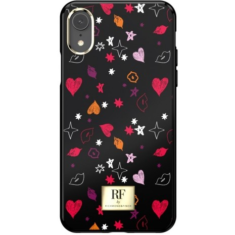 iPhone XR Cover RF by Richmond & Finch Heart and Kisses-1