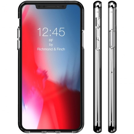 iPhone XS Max Cover RF by Richmond & Finch Transparent-3