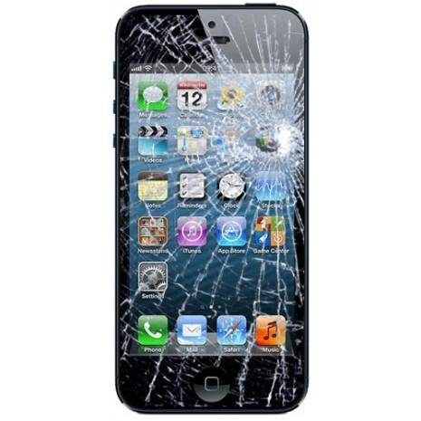 skærm udskiftning iphone 5