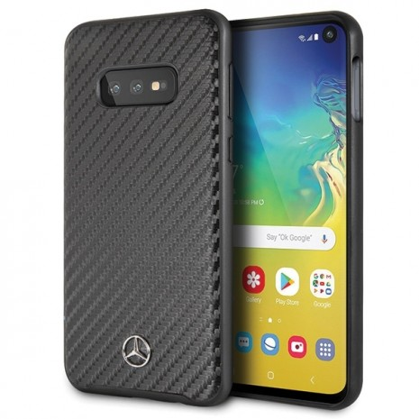 Mercedes Benz - Real Carbon Hard Cover - Samsung Galaxy S10e- Black-3