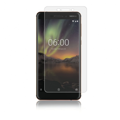Panzer Tempered Glass Full-Fit til Nokia 6/6.1  Gennemsigtig-2