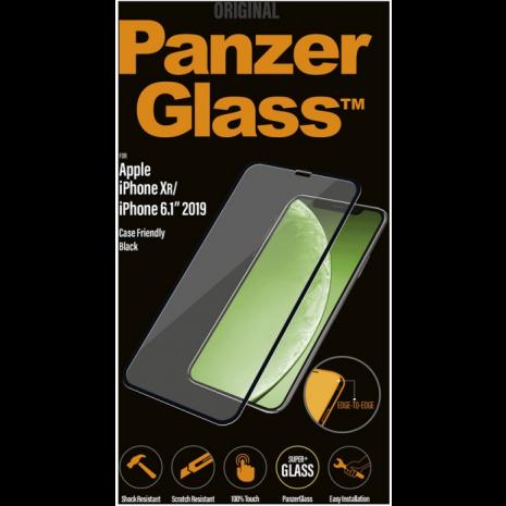 PanzerGlass beskyttelsesglas til Apple iPhone 11/XR - Full-Fit Casefriendly-1