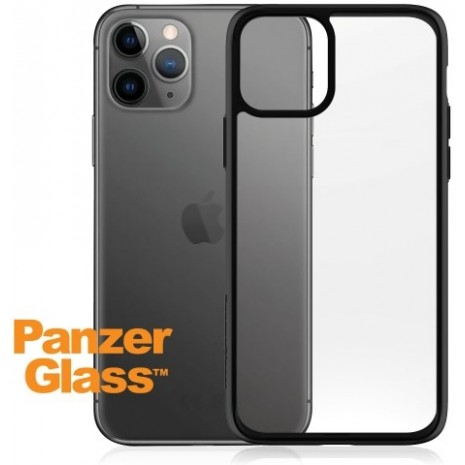 PanzerGlass Transparent cover med sort kant til iPhone 11 Pro.  -2