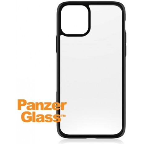PanzerGlass Transparent cover med sort kant til iPhone 11 Pro.  -1
