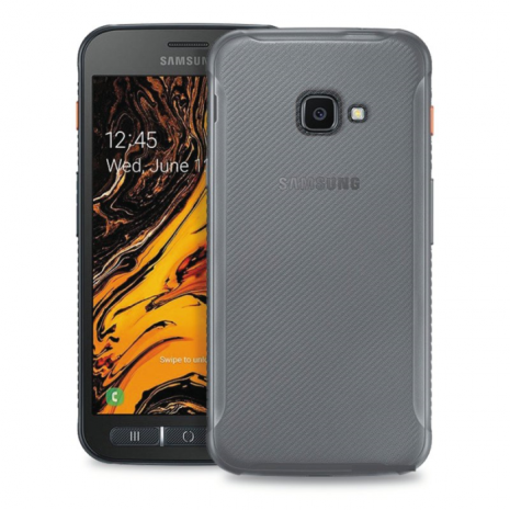 Puro 0.3 Nude Cover til Samsung Galaxy Xcover 4/4S - Gennemsigtig-2