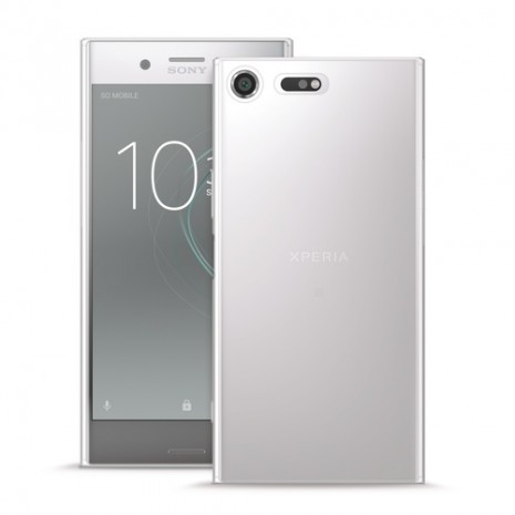 Gennemsigtigt Sony Xperia XZ Premium cover Puro 0.3 Nude
