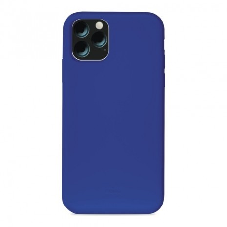 Puro Icon Apple iPhone 11 Pro Max Silikone Cover, Blå-1
