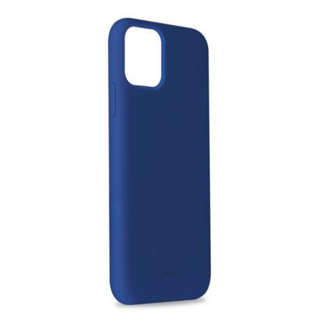 Puro Icon Apple iPhone 11 Pro Max Silikone Cover, Blå-2