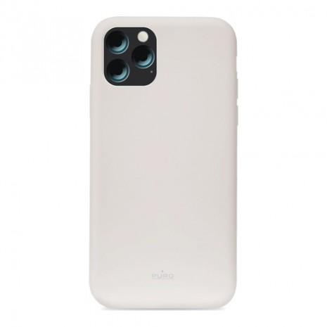 Puro Icon Apple iPhone 11 Pro Max Silikone Cover, Grå-4