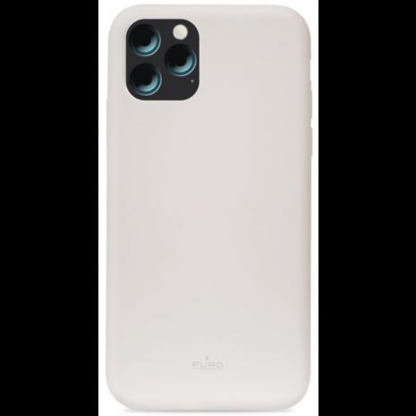 Puro Icon Apple iPhone 11 Pro Max Silikone Cover, Grå-1