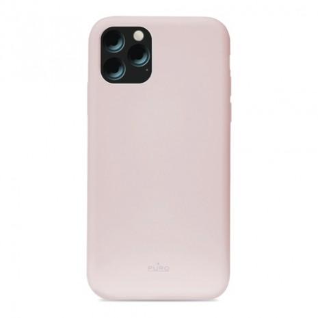 Puro Icon Apple iPhone 11 Pro Max Silikone Cover, Pink / lyserød-5