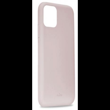 Puro Icon Apple iPhone 11 Pro Max Silikone Cover, Pink / lyserød-2