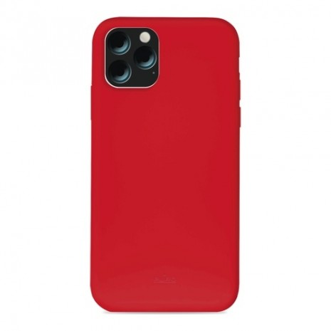 Puro Icon Apple iPhone 11 Pro Max Silikone Cover, Rød-5