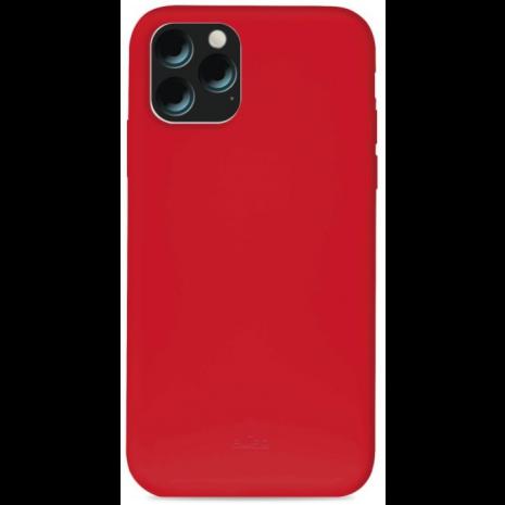 Puro Icon Apple iPhone 11 Pro Max Silikone Cover, Rød-1