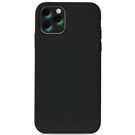 Puro Icon Apple iPhone 11 Pro Max Silikone Cover, Sort-1