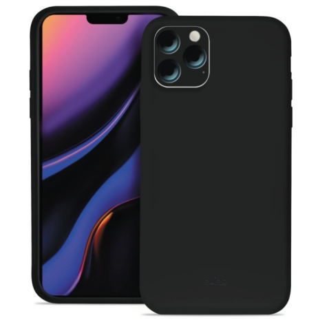 Puro Icon Apple iPhone 11 Pro Max Silikone Cover, Sort-3