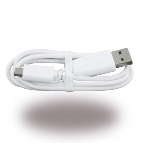 Samsung - ECB-DU28WE - Data and Charging Cable - Micro USB - 0.8m - White-2