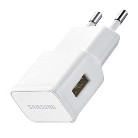 Samsung EP-TA50EWE 1Amp Oplader Med MicroUSB Kabel, Hvid-2