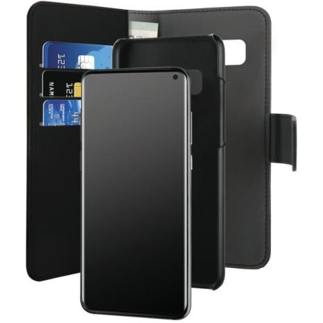 Samsung Galaxy S10 Magnet pung taske og cover 2-i-1 fra Puro - Sort-2