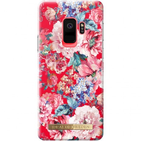 Samsung Galaxy S9 Cover iDeal Fashion Case Statement Florals-1
