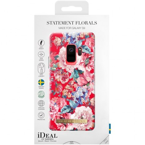 Samsung Galaxy S9 Cover iDeal Fashion Case Statement Florals-3